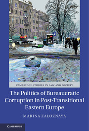 The Politics of Bureaucratic Corruption in Post-Transitional Eastern Europe
