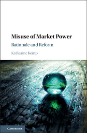 Misuse of Market Power