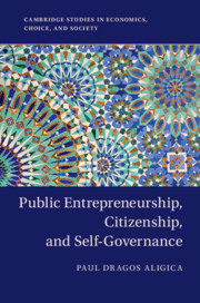 Public Entrepreneurship, Citizenship, and Self-Governance