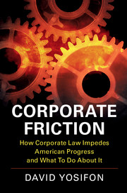 Corporate Friction