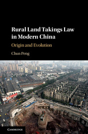 Rural Land Takings Law in Modern China