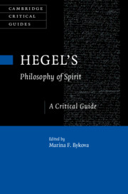Hegel's Philosophy of Spirit