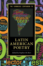 The Cambridge Companion to Latin American Poetry
