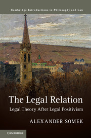 Cambridge Introductions to Philosophy and Law