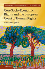 Core Socio-Economic Rights and the European Court of Human Rights
