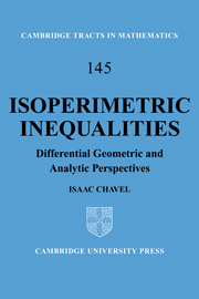 Isoperimetric Inequalities