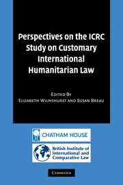 Perspectives on the ICRC Study on Customary International Humanitarian Law
