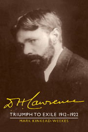 D. H. Lawrence: Triumph to Exile 1912–1922