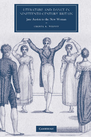 Literature and Dance in Nineteenth-Century Britain