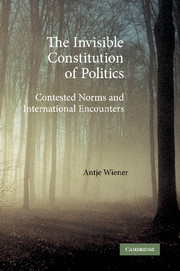 The Invisible Constitution of Politics