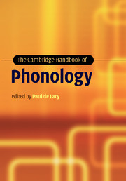The cambridge handbook of phonology edited by paul de lacy the cambridge handbook of phonology fandeluxe Gallery