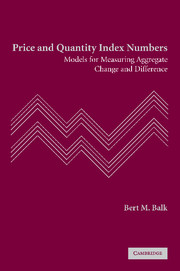 Price and Quantity Index Numbers