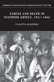 Famine and Death in Occupied Greece, 1941–1944