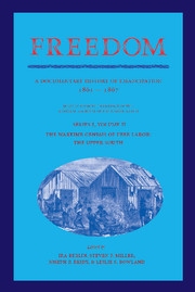 Freedom: A Documentary History of Emancipation