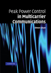 Peak Power Control in Multicarrier Communications