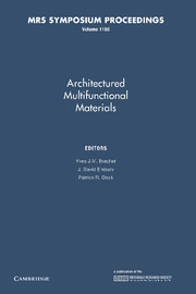 Architectured Multifunctional Materials