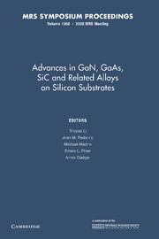 Advances in GaN, GaAs, SiC and Related Alloys on Silicon Substrates