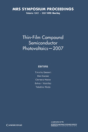 Thin-Film Compound Semiconductor Photovoltaics — 2007