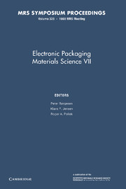Electronic Packaging Materials Science VII
