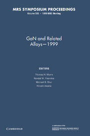 GaN and Related Alloys – 1999