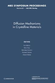 Diffusion Mechanisms in Crystalline Materials