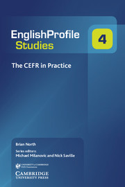 The CEFR in Practice