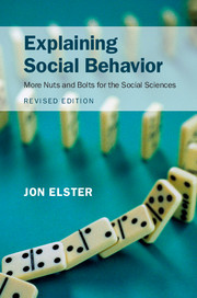 Explaining Social Behavior