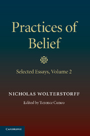 Practices of Belief