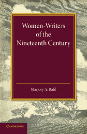 Women-Writers of the Nineteenth Century
