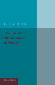 The Thermal Measurement of Energy