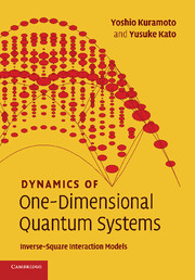 Dynamics of One-Dimensional Quantum Systems