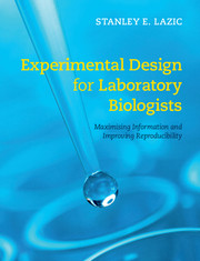 Experimental Design for Laboratory Biologists
