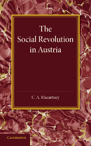 The Social Revolution in Austria