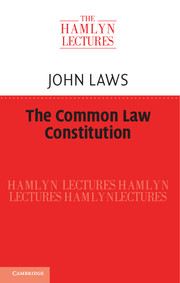 The Common Law Constitution