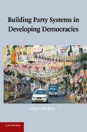 Building Party Systems in Developing Democracies