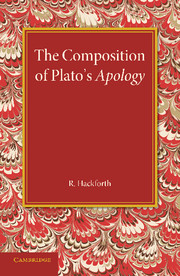 The Composition of Plato's Apology
