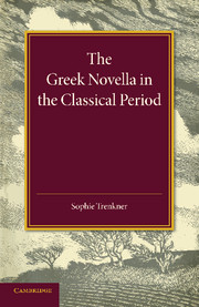 The Greek Novella in the Classical Period