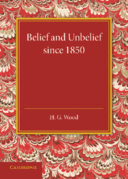 Belief and Unbelief since 1850