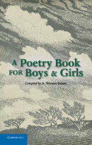 A Poetry Book for Boys and Girls