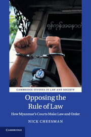 Opposing the Rule of Law