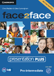 face2face Pre-intermediate Presentation Plus DVD-ROM