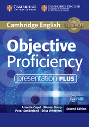 Objective Proficiency Presentation Plus DVD-ROM