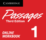 Passages Level 1 Online Workbook Activation Code Card