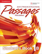 Passages Level 1 Student's Book B with Online Workbook B