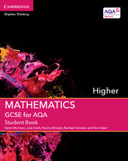 GCSE Mathematics for AQA Higher Student Book with Online Subscription (3 Years)