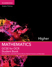GCSE Mathematics for OCR Higher Student Book with Online Subscription (2 Years)