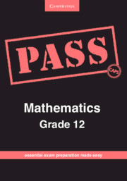 PASS Mathematics Grade 12