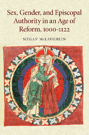 Sex, Gender, and Episcopal Authority in an Age of Reform, 1000–1122
