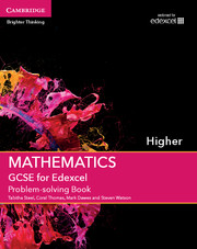 for Edexcel Problem-solving Book