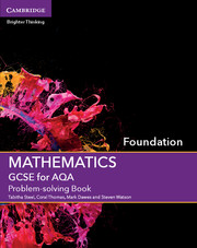 for AQA Problem-solving Book